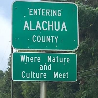 Alachua County Sign